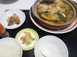 中華風鍋焼き